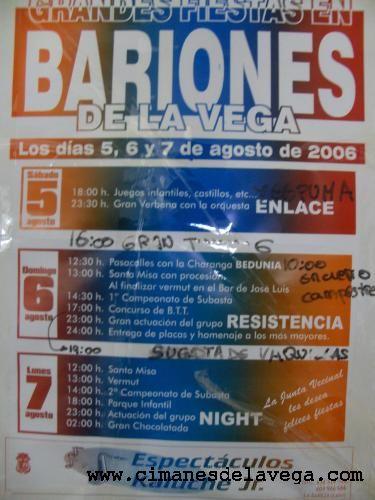 Cartel Fiestas Bariones 07